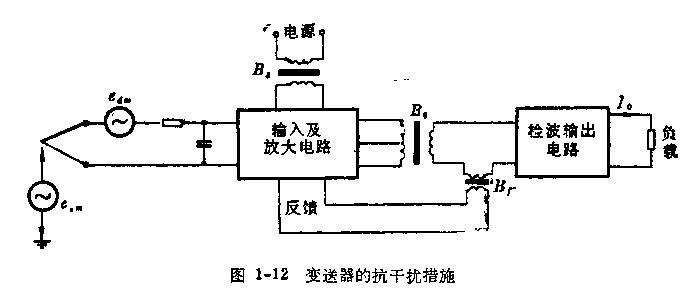 反馈电压取自输出变压器b 0的副边,并使用电流互感器b 1直接反映负载